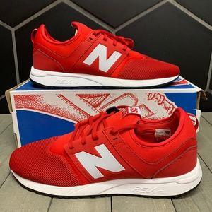 New Balance 247 Red White Running Shoe Size 13
